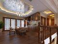 140平米复式中式风格楼梯装修案例