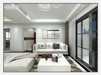 经济型110平米四室一厅北欧风格客厅图片大全