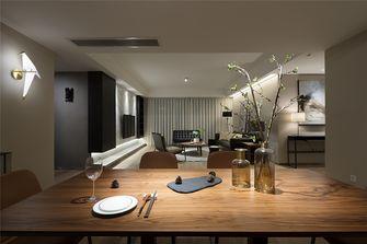 120平米三室一厅日式风格餐厅效果图
