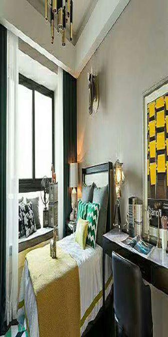 90平米四室一厅欧式风格卧室效果图