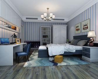 140平米四室一厅东南亚风格卧室图片