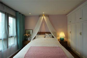 90平米三室一厅田园风格卧室图