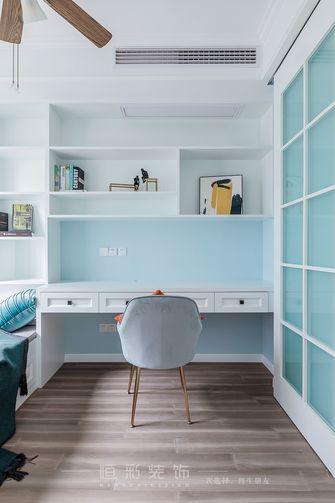 经济型80平米三室两厅美式风格书房设计图