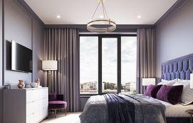 90平米新古典风格卧室装修图片大全