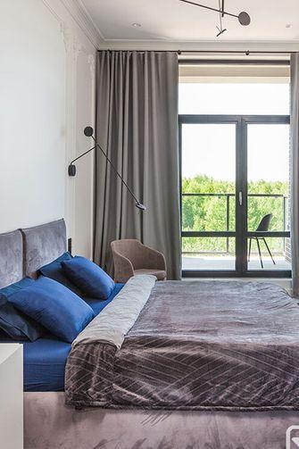 110平米一居室混搭风格卧室图片大全