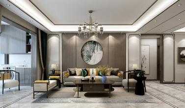 140平米三室一厅中式风格客厅欣赏图