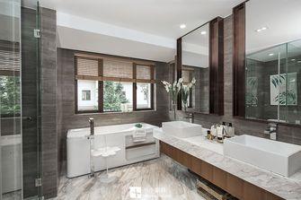 140平米三室两厅中式风格卫生间欣赏图