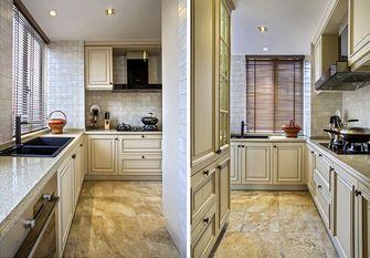 140平米四室三厅新古典风格厨房图片大全
