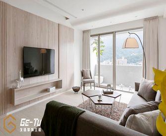 140平米三室一厅日式风格客厅效果图