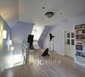 经济型110平米三室两厅北欧风格楼梯图