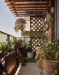 50平米一室一厅宜家风格阳台效果图