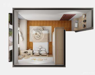 5-10万110平米三室两厅北欧风格卧室装修图片大全