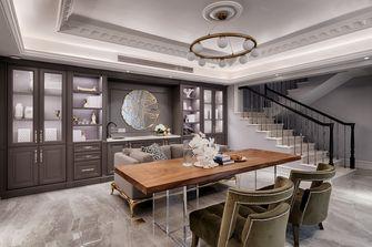 140平米四室四厅法式风格书房装修图片大全