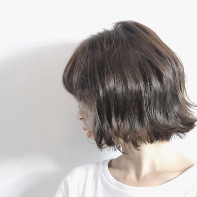 剪发+染发作品图