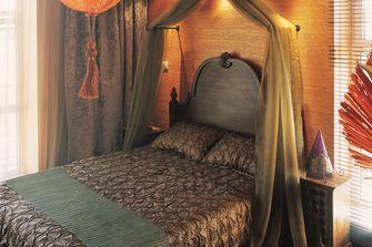 100平米三室两厅东南亚风格卧室设计图