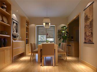 140平米四室一厅日式风格餐厅图片
