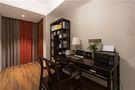 120平米三室两厅中式风格书房图