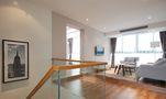 富裕型140平米复式现代简约风格楼梯效果图