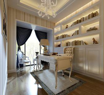 20万以上110平米三现代简约风格书房装修图片大全