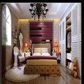经济型60平米一室五厅现代简约风格卧室装修案例