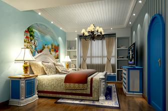 140平米四室三厅地中海风格卧室图