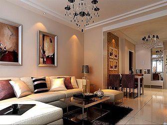 40平米小户型现代简约风格客厅沙发图