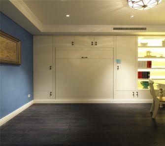 120平米三英伦风格书房设计图