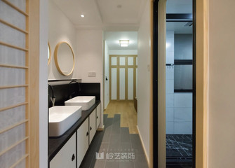 50平米一室一厅日式风格卫生间设计图