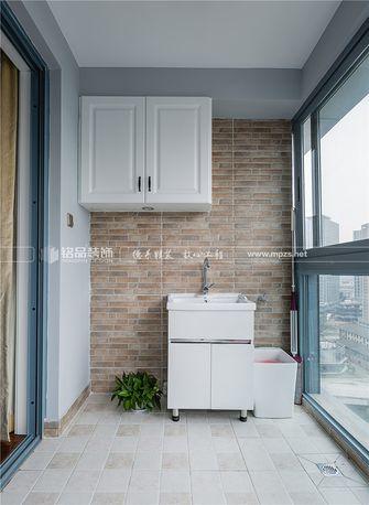 110平米三室两厅美式风格阳台图