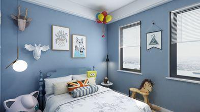 90平米三室一厅现代简约风格儿童房欣赏图