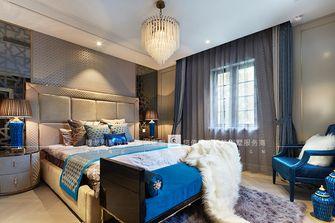 豪华型140平米别墅现代简约风格卧室设计图