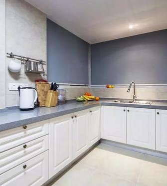 130平米三室一厅美式风格厨房欣赏图