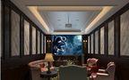 20万以上140平米四室一厅田园风格影音室装修图片大全