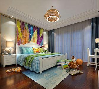 140平米四室两厅英伦风格儿童房图片