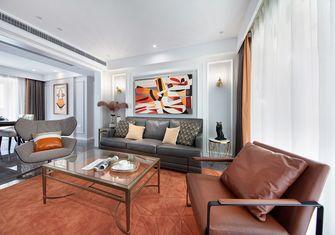110平米三室三厅美式风格客厅图