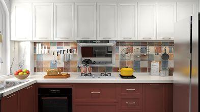 120平米三室两厅混搭风格厨房图