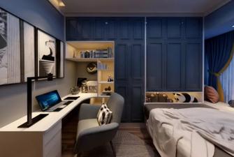 120平米一居室宜家风格卧室图