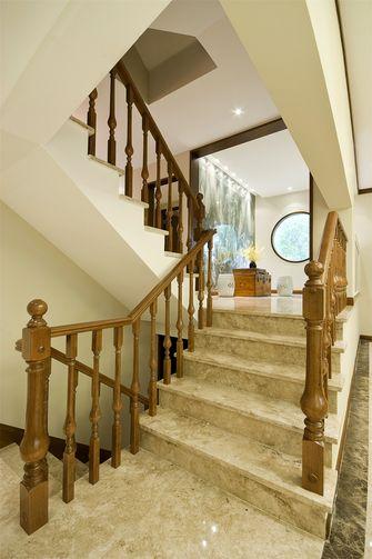 20万以上140平米三室三厅中式风格楼梯装修效果图