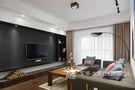 120平米三室两厅北欧风格客厅沙发设计图