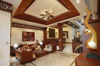 110平米三室一厅东南亚风格客厅装修案例