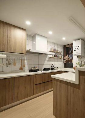 120平米三北歐風格廚房裝修圖片大全