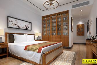 130平米三室一厅中式风格卧室装修案例