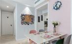 80平米公寓欧式风格餐厅装修案例
