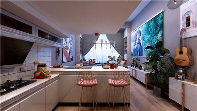 130平米复式混搭风格厨房设计图