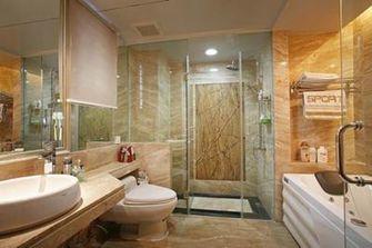 140平米四室三厅新古典风格卫生间设计图