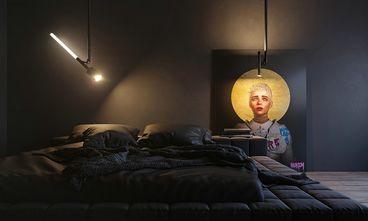 70平米三室两厅英伦风格卧室设计图