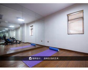 140平米北欧风格健身室设计图