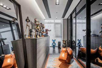 130平米三室两厅现代简约风格储藏室欣赏图
