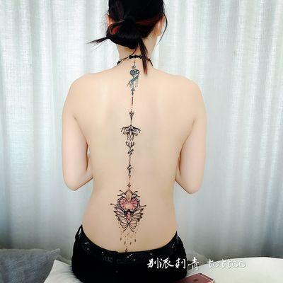 梵花加写实纹身款式图