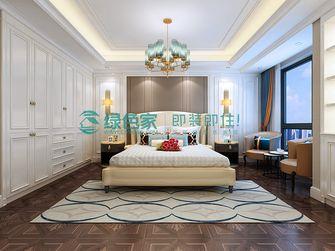 富裕型140平米三室四厅欧式风格卧室欣赏图